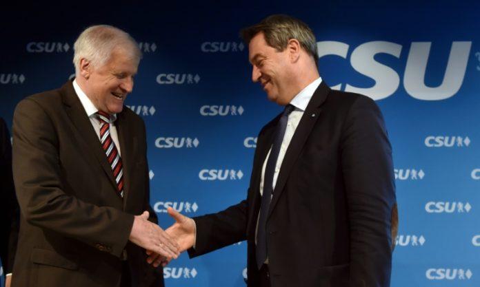 Horst Seehofer,Markus Söder,Berlin,Politik,Nachrichten,CSU,Parteitag,Wahlen,München