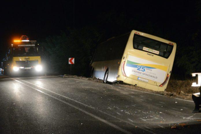 Duben, Nachrichten, Unfall,Linienbus,Verkehr,Cottbus