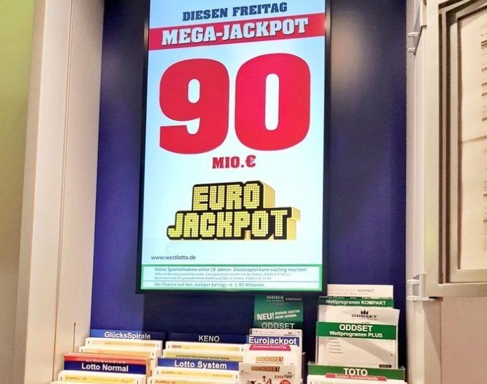 Münster, Freizeit, Eurojackpot, Bild, Lotto, Glücksspiel, Panorama