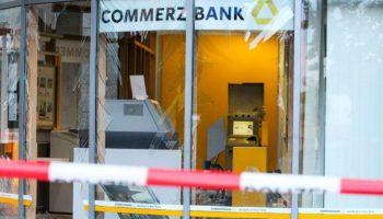 Geldautomat , Commerzbank,Finanzen,Nachrichten,News,Presse.Aktuelles, Kriminalität,Geldautomat-Sprengungen