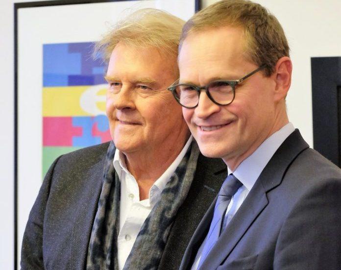 Michael Müller,Howard Carpendale ,Musik,Gästebuch,Berlin,VisitBerlin,Event,#EventNews