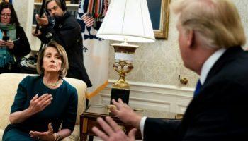 Nancy Pelosi ,Donald Trump,Ausland,Politik,Außenpolitik,Washington,Haushaltsverhandlungen,News,Presse,Nachrichten,Aktuelles,