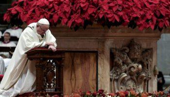 Petersdom,Heiligabend,Brauchtum,Christmette,Papst Franziskus,Vatikan,Kirche