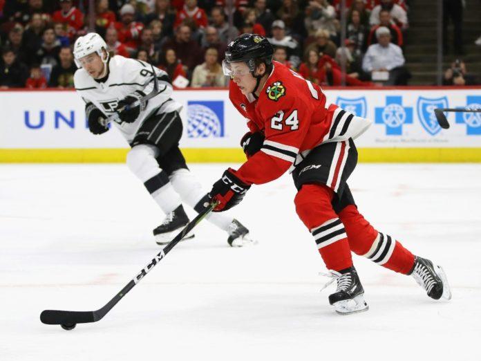 NHL,Chicago Blackhawks,Dominik Kahun,Eishockey,Sport,News,Presse, Aktuelles,Nachrichten