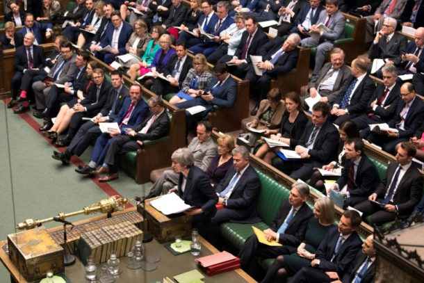 Brexit-Vertrag ,Regierungschefin Theresa May