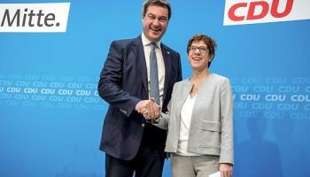 Münster,Annegret Kramp-Karrenbauer,Europawahl