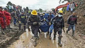 Kolumbien,Erdrutsch,Unglück