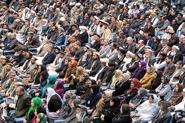 Loja Dschirga,Kabul,Friedensverhandlungen
