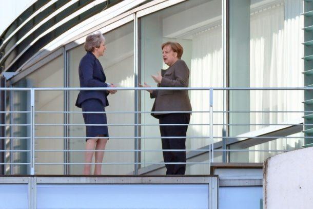 Angela Merkel,Theresa May ,Berlin