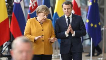 Angela Merkel ,Westbalkan,Emmanuel Macron