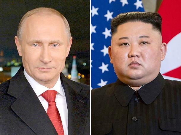 Gipfeltreffen,Wladimir Putin,Kim Jong Un