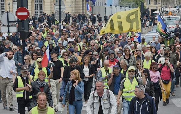 Gelbwesten,Frankreich,Presse,News