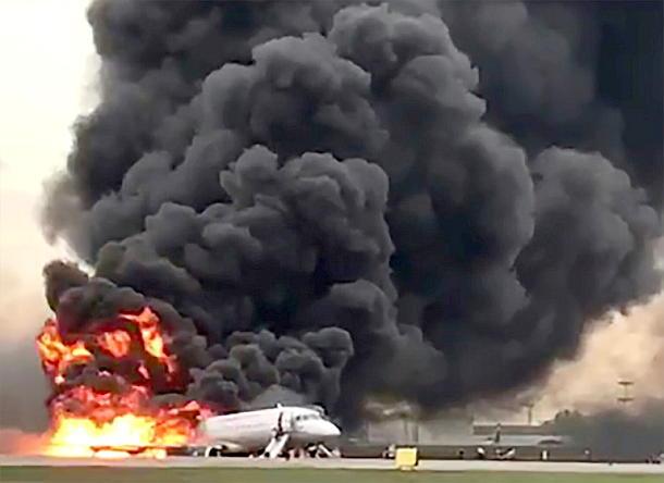 Flugzeugunglück in Moskau,Presse,News
