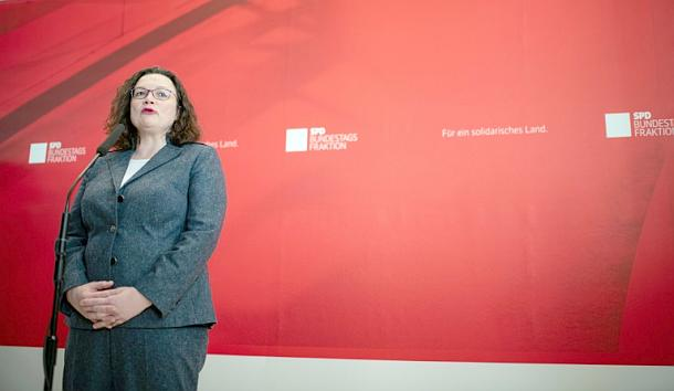 Andrea Nahles,Politik,Presse,News,SPD