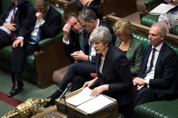 Premierministerin Theresa May,Politik,Brexit,Presse
