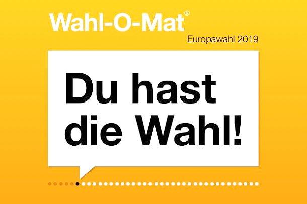 Europawahl 2019,Wahl-O-Mat,Politik,