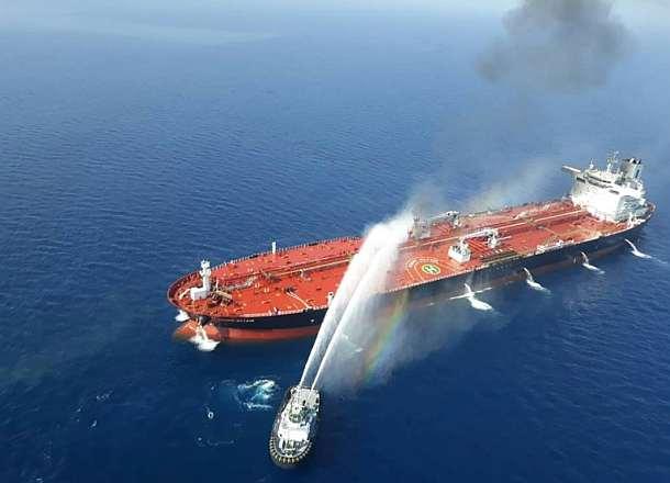 USA und Großbritannien geben Iran Schuld an Tanker-Angriffen