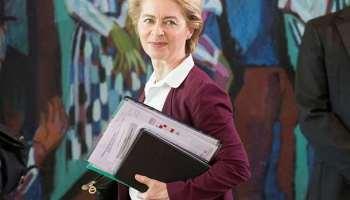 Luftfahrtmesse,Ursula von der Leyen,News,Politik