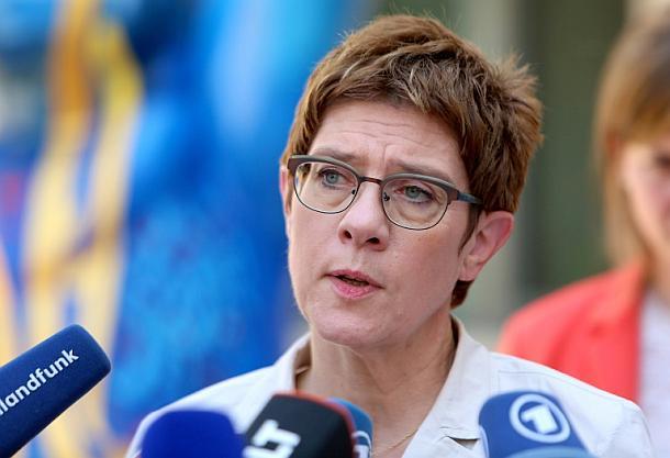 Annegret Kramp-Karrenbauer ,CDU,Presse,News,Medien,Berlin,Bundeswehr