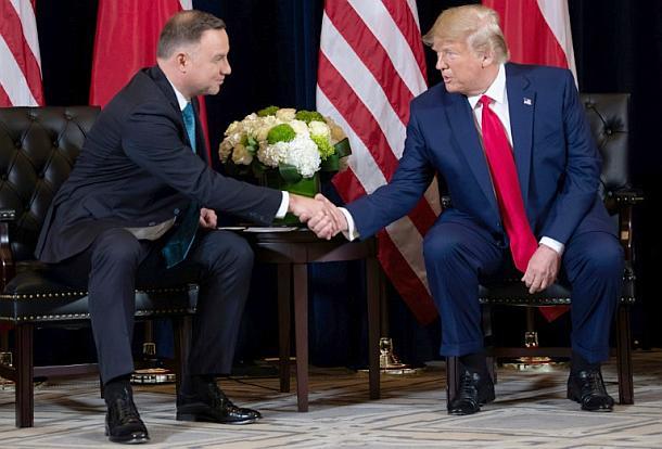 Donald Trump,Andrzej Duda,Polen,Presse,News,Medien,Aktuelle,Nachrichten