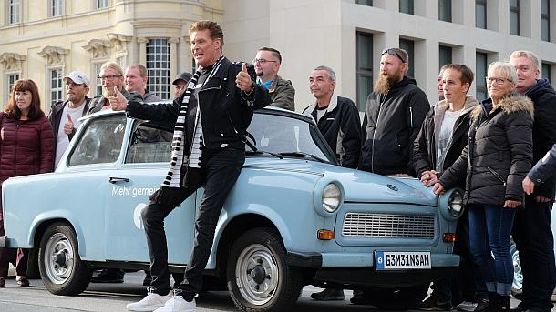 David Hasselhoff,Berlin,Presse,News,Medie,Aktuelle,Trabi-Fan,Starnews,People
