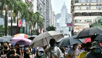 Hongkong,Carrie Lam,Vermummungsverbot,Presse,News,Medien