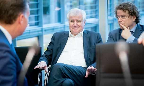 Horst Seehofer,CSU,Politik,Berlin,Presse,Medien,Aktuelle