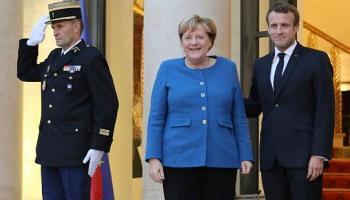 Toulouse, Angela Merkel,Emmanuel Macron,Politik,Presse,News,Medien, Airbus