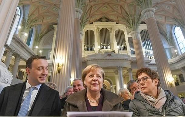 CDU,Bundesparteitag,Leipzig,Partei,Presse,News,Medien