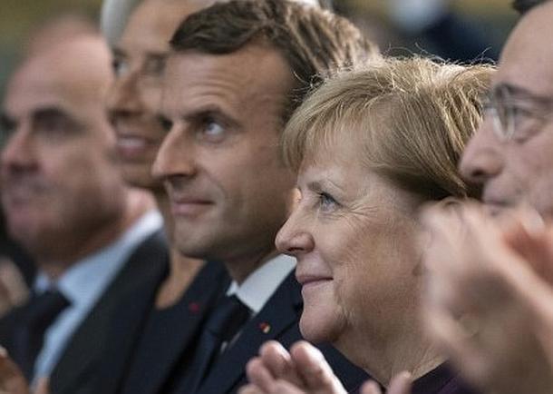 Angela Merkel,Emmanuel Macron,Presse,News,Medien,Aktuelle