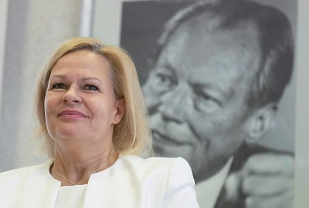 Nancy Faeser,SPD,Politik,Presse,News,Medien,Aktuelle,Nachrichten