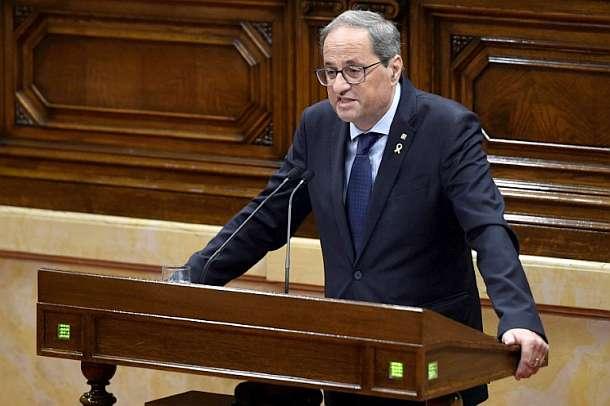 Quim Torra,Katalonien,Regionalpräsident ,Presse,News,Medien