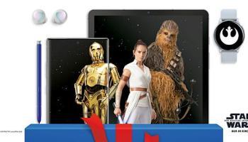 Samsung,Star Wars,,Weihnachtskampagne ,Presse,News,Medien,Netzwelt,Online,