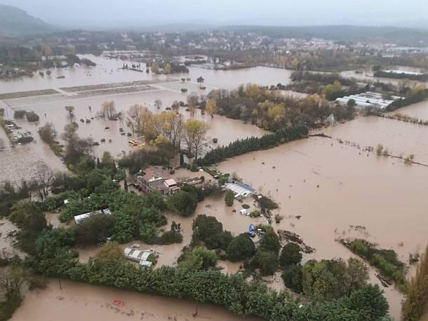 Südfrankreich,Unwetter,Presse,News,Medien,Aktuelle
