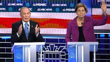 Michael Bloomberg,Elizabeth Warren,Politik,Presse,News,Medien