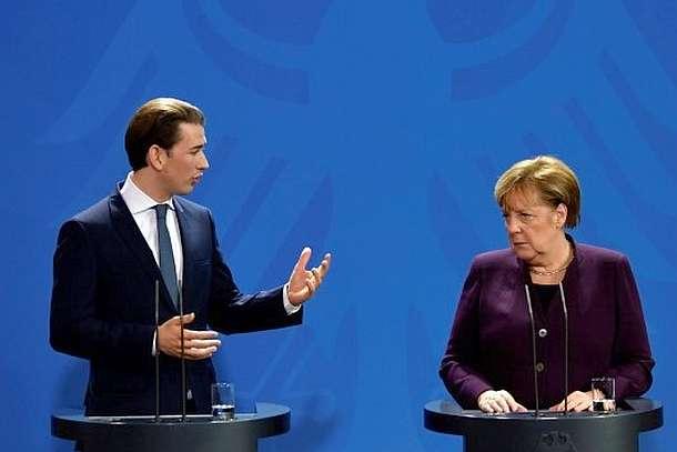 Berlin,Sebastian Kurz,Österreich,Politik,Presse,News,Medien,Aktuelle