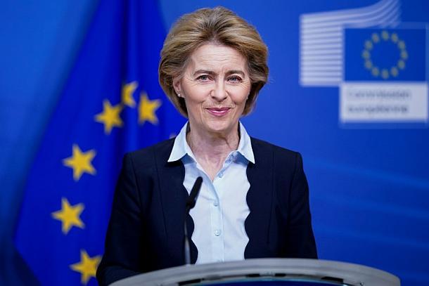 Ursula von der Leyen,POlitik,Presse,News,Medien,Corona