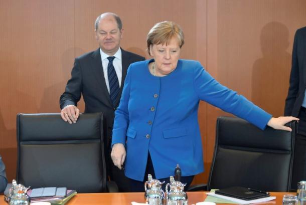 Angela Merkel,Olaf Scholz,Berlin,Politik,Presse,News