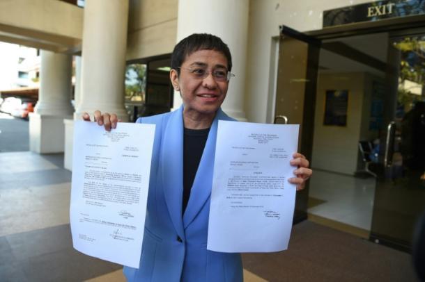 Maria Ressa ,Journalistin,Philippinen,Presse,News,Medien