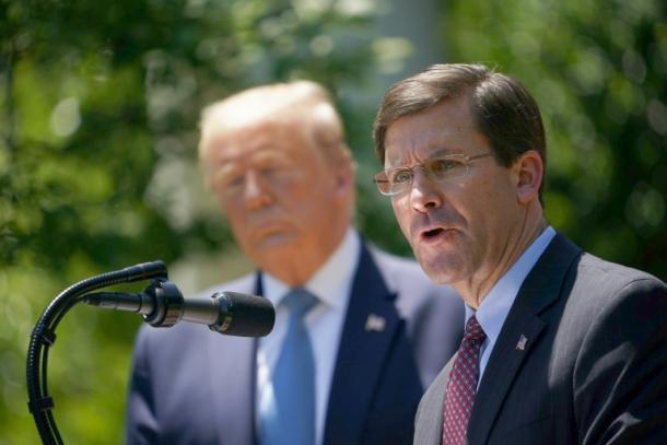 Mark Esper,Donald Trump,Politik,Presse,News,Medien