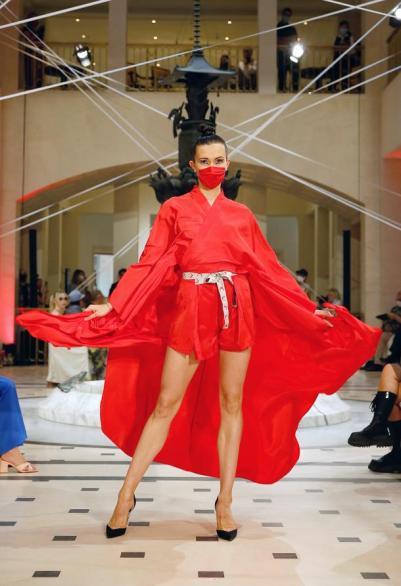 Anja Gockel,Fashionshow