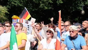 München,Berlin Demo, Querdenken,Berlin,Presse,News,Medien