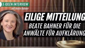 Beate Bahner,Presse,News,Medien,People