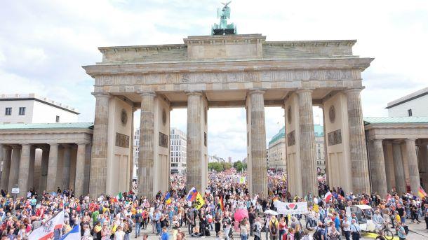 Berlin Demo,Querdenken,Querdenker,News,Medien,Staatsanwältin