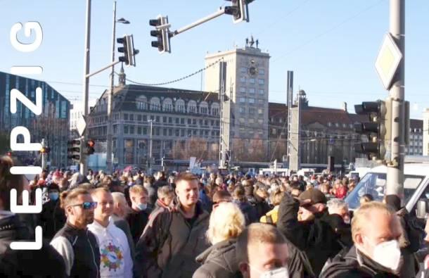 Leipzig,Querdenken,Leipzig Demo,News