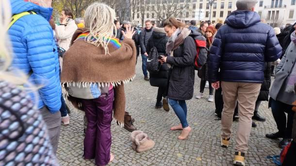 Corona Demo,Frankfurt ,Querdenker,Presse,News