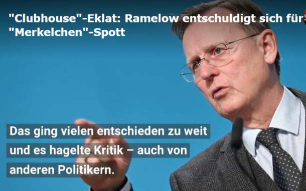 Clubhouse,Politik,Presse,News,Medien,Merkelchen