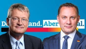 Jörg Meuthen,Tino Chrupalla,AfD,Partei,Presse,Dresden