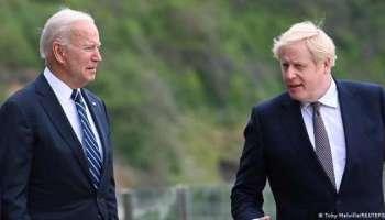 Boris Johnson Joe Biden,Politik,Presse,News,Medien,