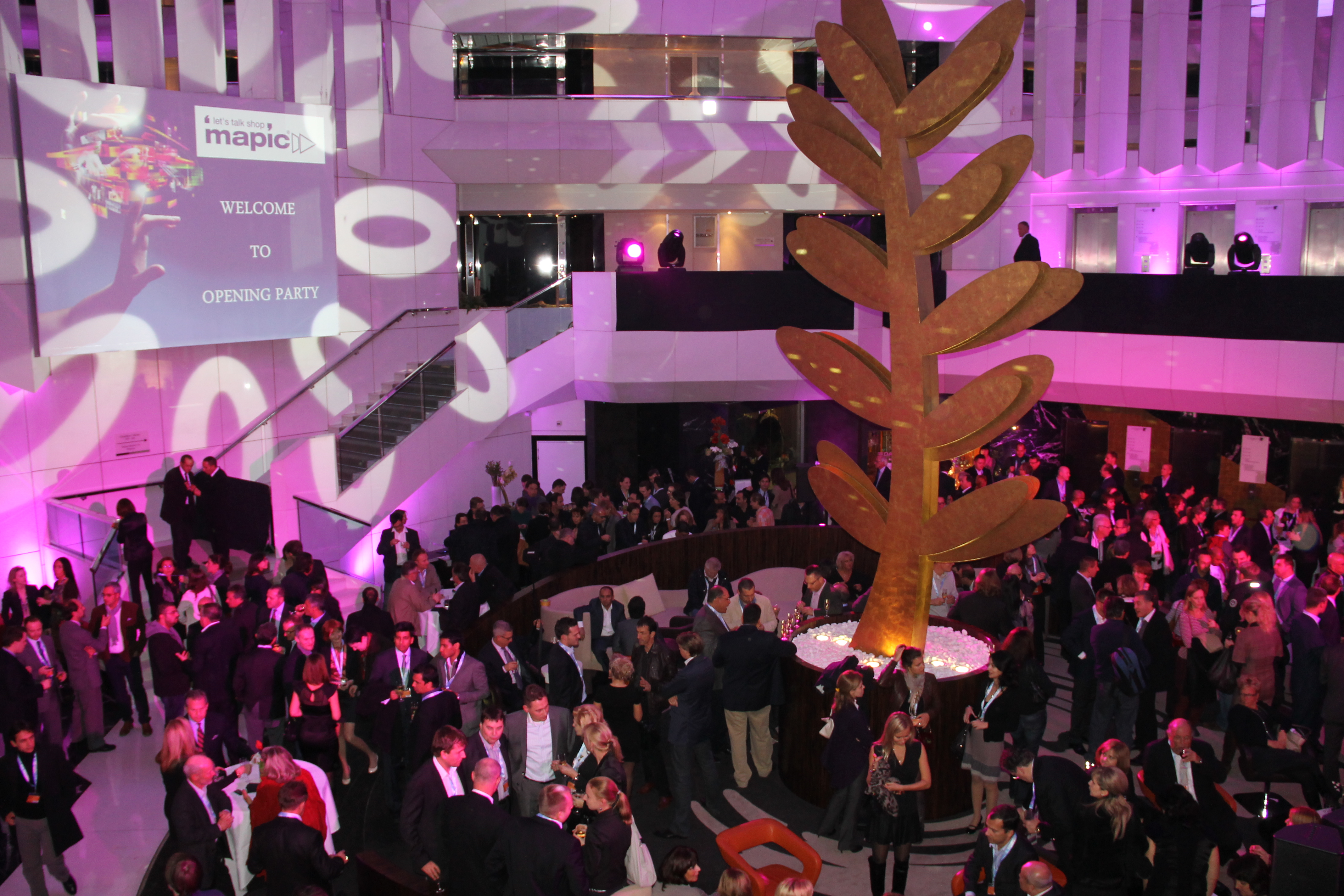 Party at MAPIC in Cannes